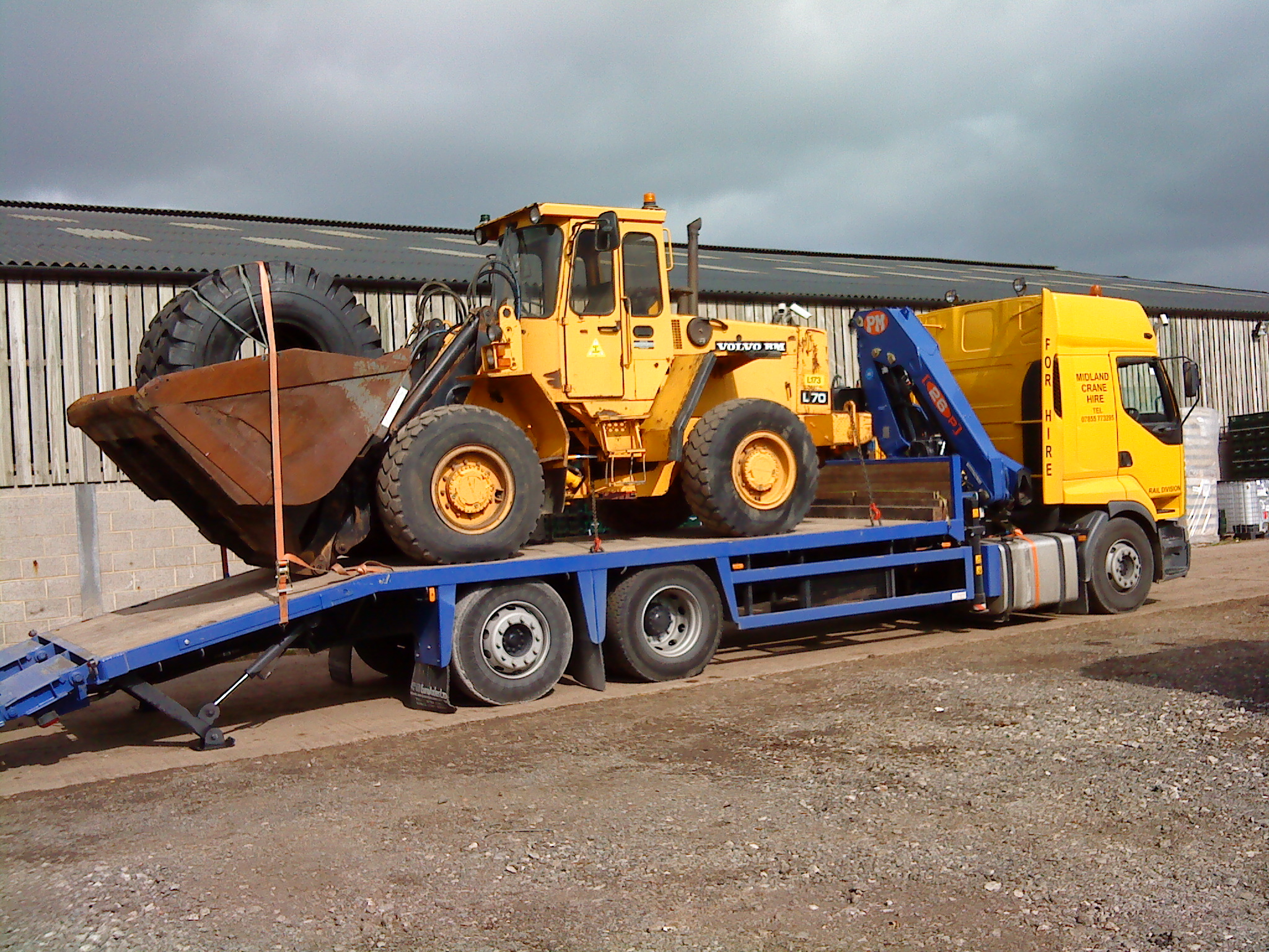 link up approved plant transport for the rail industry